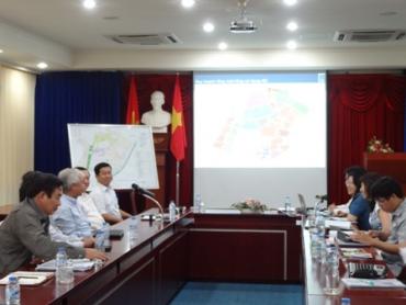 Thứ trưởng Bộ Xây dựng Phan Mỹ Linh kiểm tra dự án Đại học Quốc gia HCM